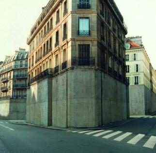 Immeubles et rues - Photographie Nicolas Moulin