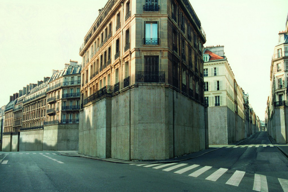 Immeubles et rues - Photographie Nicolas Moulin