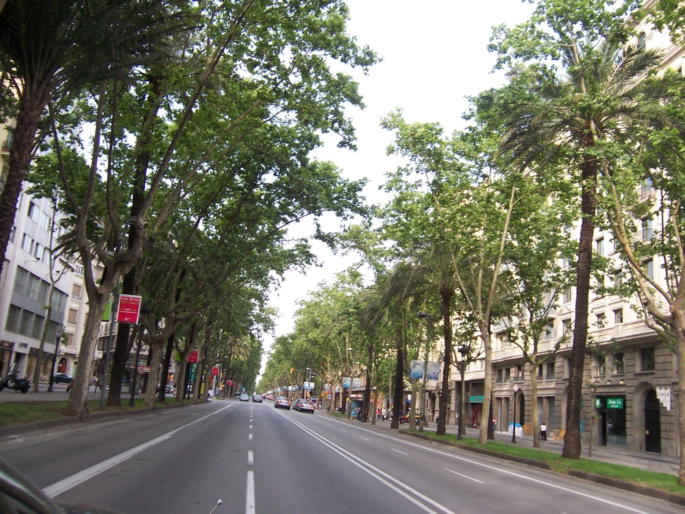 Avinguda Diagonal dans Barcelone