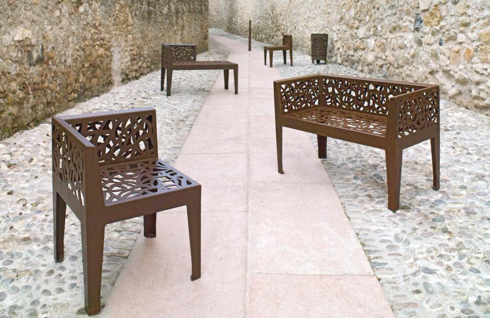 Gamme Corten Style, fauteuil et  banquette