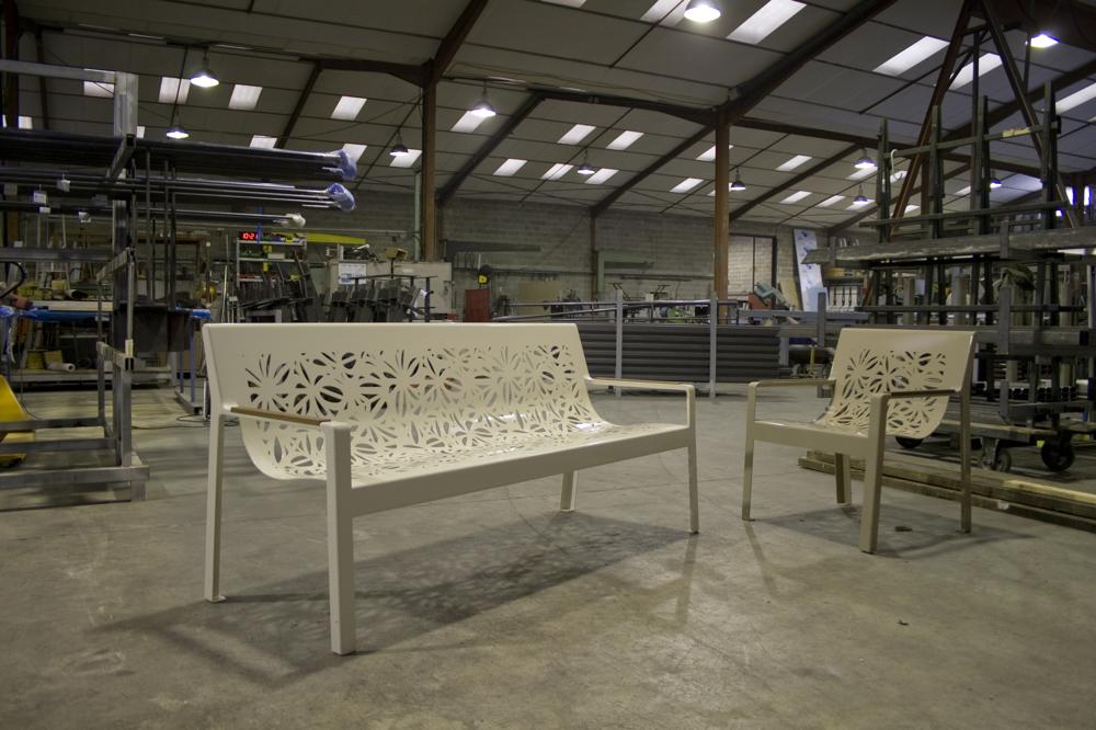Atelier metal mobilier urbain - Photographie Thomas Casubolo