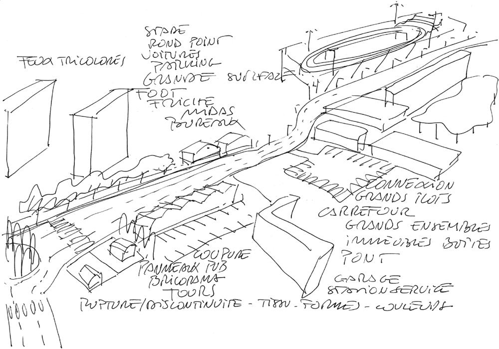 Une étude de l'espace urbain par Marc Aurel