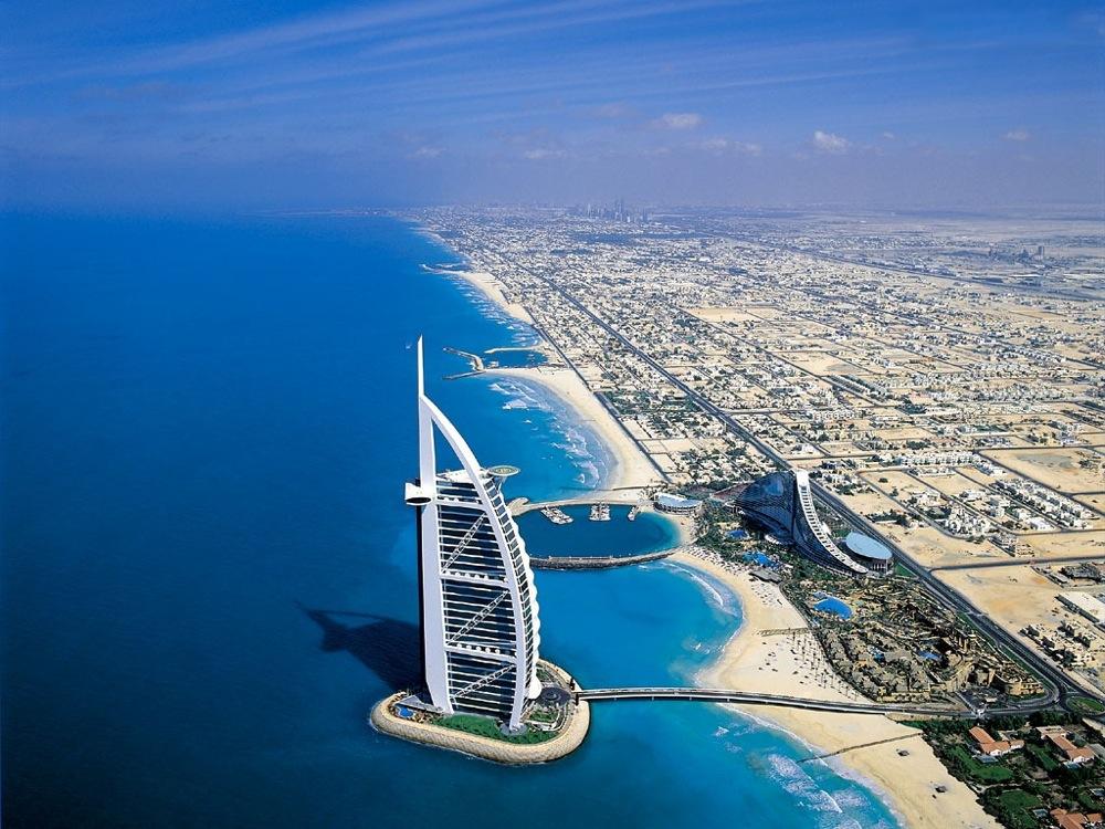 Dubaï ville côtière