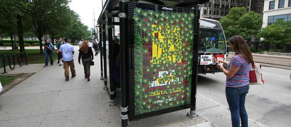 Affichage pour le concert Pearl Jam, Chicago