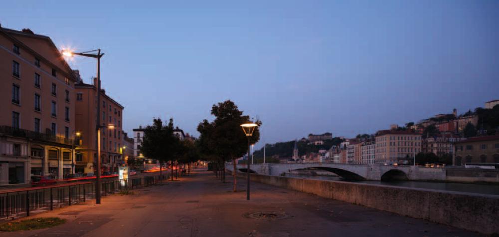 Les quais à Lyon © Didier Boy de la Tour