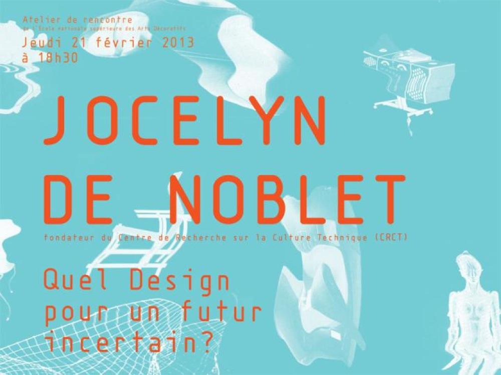 L'ouvrage de Jocelyn de Noblet : Quel design pour un futur incertain ?