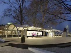 Pavillon événementiel du collectif Assemblage © Rémy Gindroz