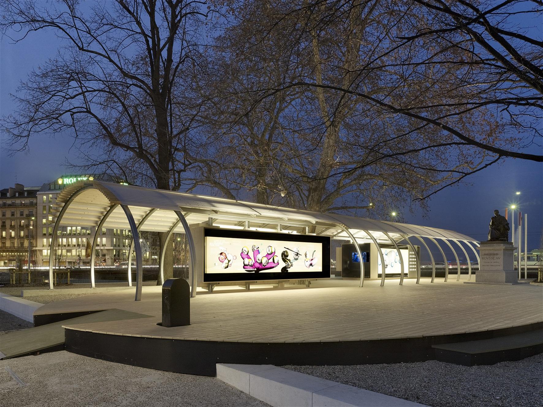 Ville de gen ve un espace public ma tris observatoire for Mobilier urbain espace public