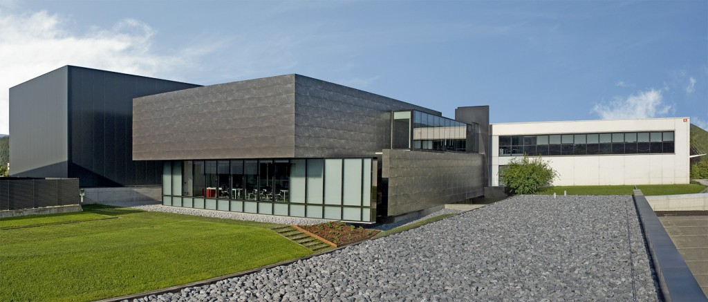 Le siège social d'AEC, à Arezzo, en Italie