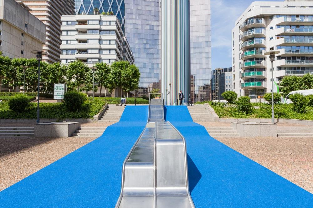 L'installation Slides d'Alexandre Moronnoz