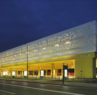 Station de bus Velenje en Slovénie © Lafarge
