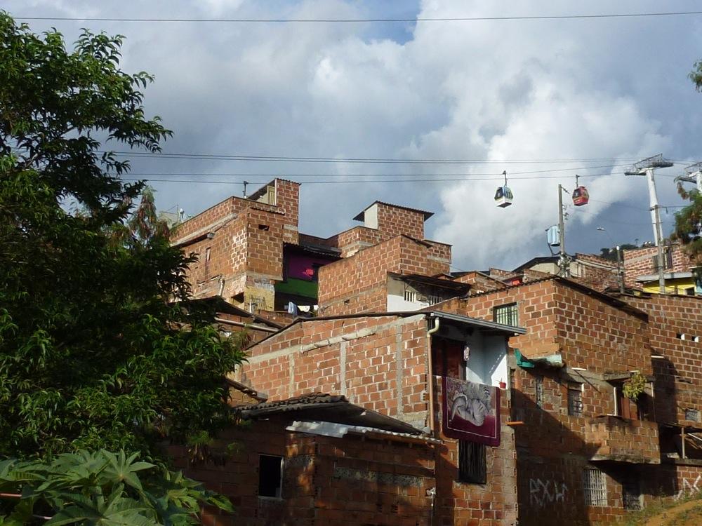 Le métrocable de Medellin en Colombie